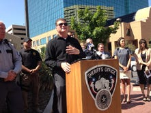 Sheriff announces warrant roundup; wanted people's names to be published