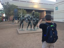 Here's how Phoenix ended up with so many naked statues downtown