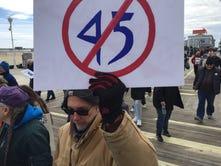 Anti-Trump protest in Ocean City meets pro-Trump howls