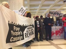 'Poor People's Campaign' rally at Capitol for felon's rights
