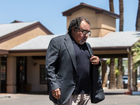 Raul Grijalva tours Southwest Key
