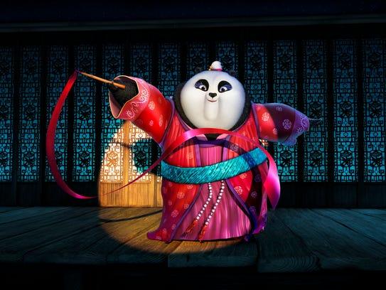Mei Mei, voiced by Rebel Wilson, makes a powerful appearance