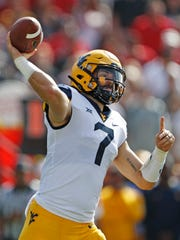 In non-Tua Tagovailoa years, West Virginia quarterback Wil Grier would be among the leading Heisman Trophy candidates.