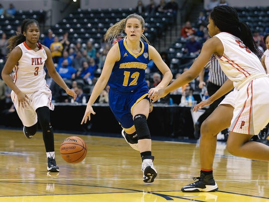 Karissa McLaughlin led Homestead to the Class 4A state title this past season.
