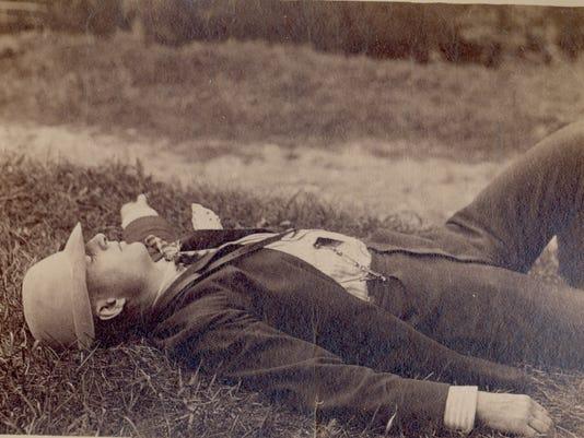 ELM Rufus Stanley sleeping 1886