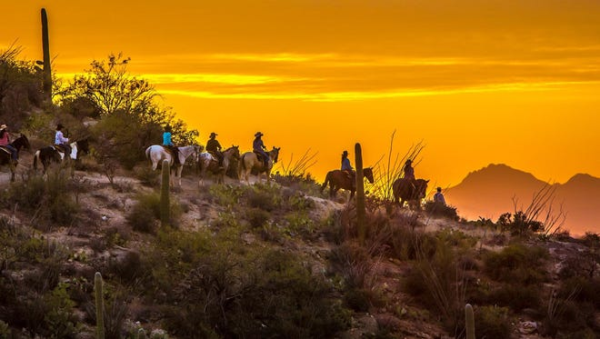 Cowboy living comes with a Southwest flavor at Tucson's Tanque Verde Ranch.