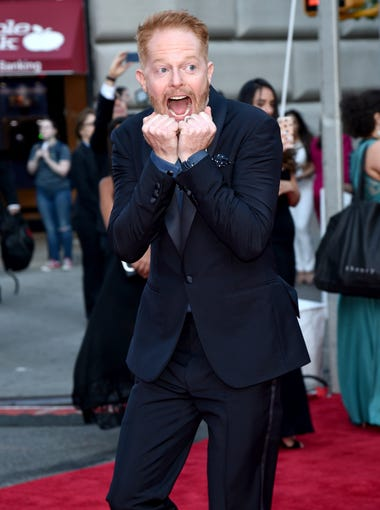 Actor Jesse Tyler Ferguson arrives at 2016 Tony Awards