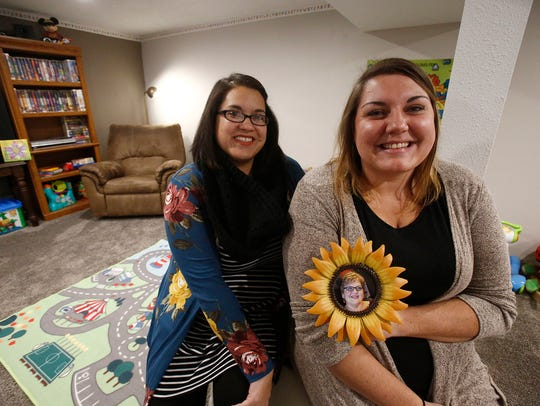Niki Sinn, right, co-owns Sonshine Kids day care with her friend Andrea Rink.