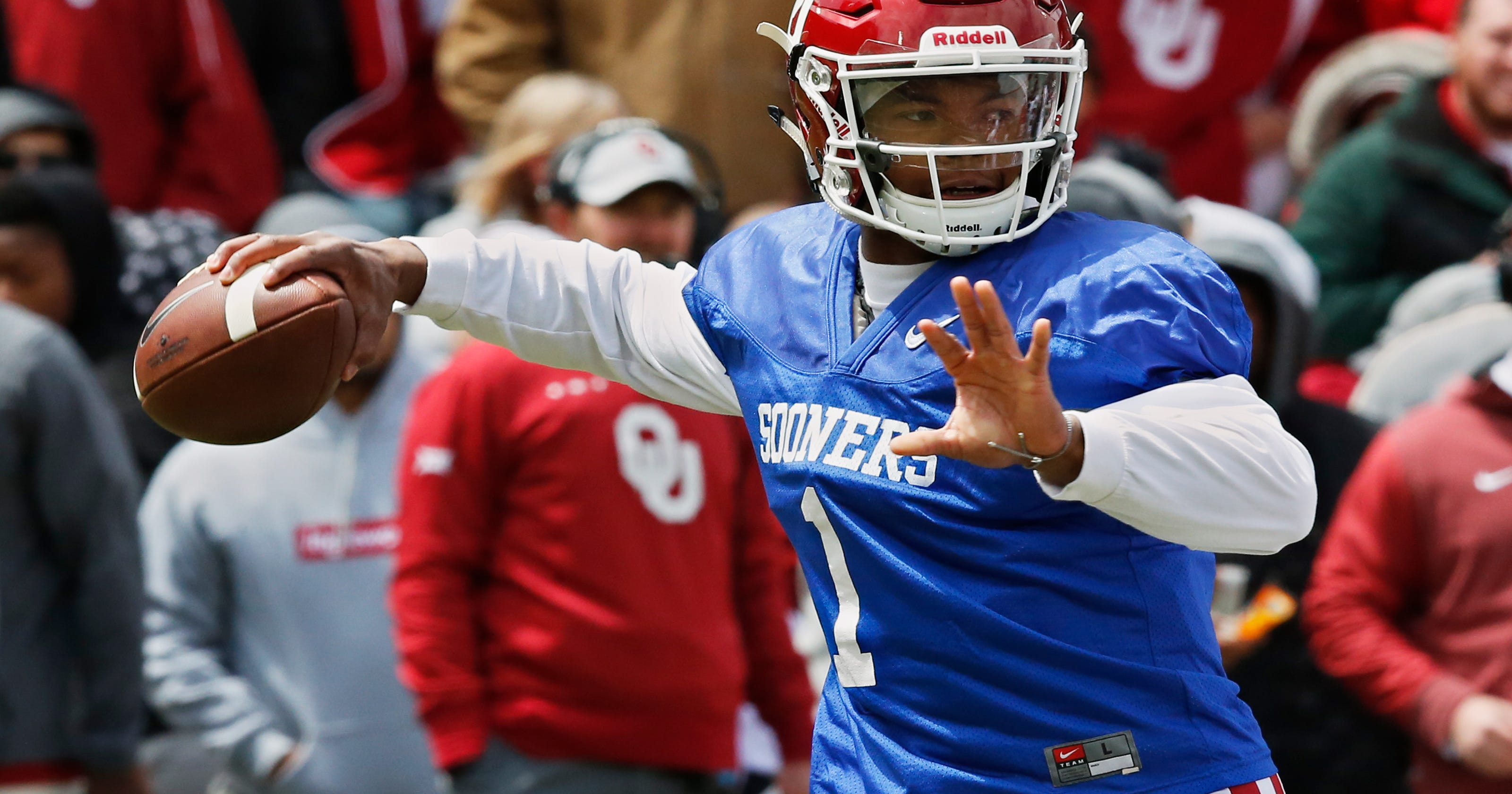 sale retailer 3fe14 6685a QB Murray says he'll play for OU after being drafted by A's