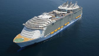 Royal Caribbean's next ship, Symphony of the Seas, will be slightly bigger than sister vessel Harmony of the Seas, shown here. Harmony currently is the biggest cruise ship at sea.