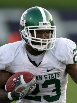 No. 11: Javon Ringer, running back, 2005-08. Size: 5-9, 202. Wore: No. 23. From: Dayton, Ohio. Stats: 45 games, 4,398 yards, 34 TDs, 96 REC. Honors: Senior captain, All-America ('08), All-Big Ten ('08), second-team All-Big Ten ('07), MSU MVP ('07, '08). The buzz: Just two of Ringer's four seasons at MSU came in the Dantonio era, but what incredible seasons they were. As a senior in 2008, Ringer rushed for 1,637 yards and 22 touchdowns, becoming the first MSU running back selected a consensus All-America since Lorenzo White in 1987. And he had a torn knee ligament late in the season. He is second on MSU's career rushing list with 4,398 yards.