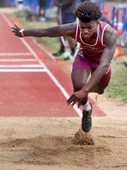 Riverdale's Ty Chesterfield competes in the Class AAA