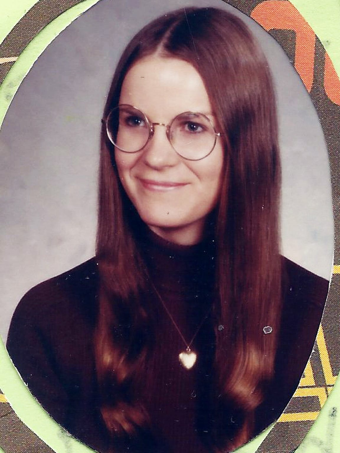 A family photo of Sherri Myers from the 1970s. Myers