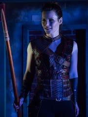 Jordan Trovillion plays Hunter, a warrior who travels