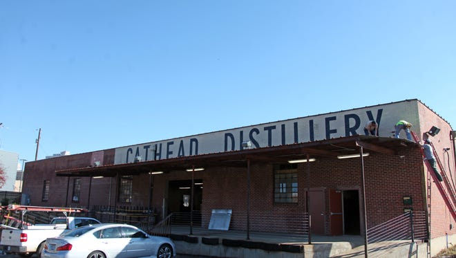 Cathead Distillery's new location is on South Farish Street. in Jackson.