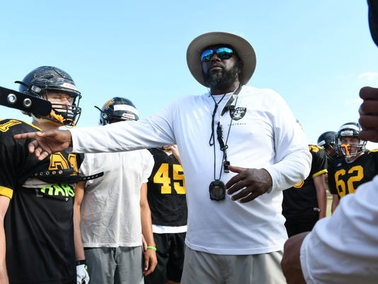 High School Football: Merritt Island Spring Practice