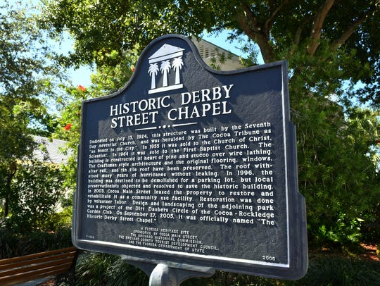 Historic Derby Street Chapel is at 121 Derby Street,