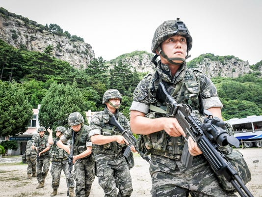 EPA SOUTH KOREA DEFENSE EXERCISE POL DEFENCE SWI