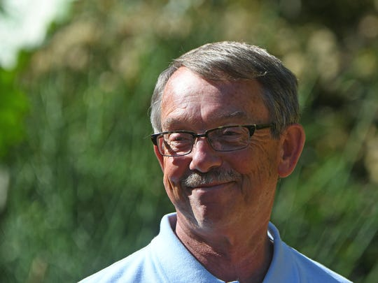 Head Gardener Bill Collins is retiring from Kingwood in December after 2 stints and more than 30 years.