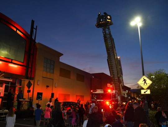Brevard County Fire Rescue dropped hundreds of chocolate