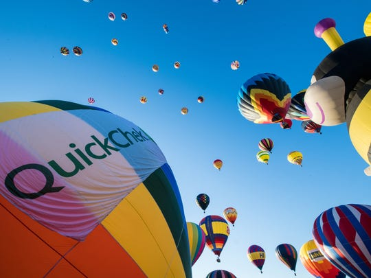 The New Jersey Festival of Ballooning will be held from  July 24 through 26 in 2020.