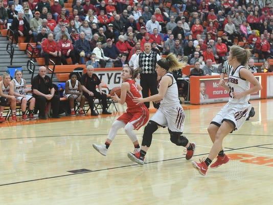 Girls Basketball: Bellevue vs. Norton