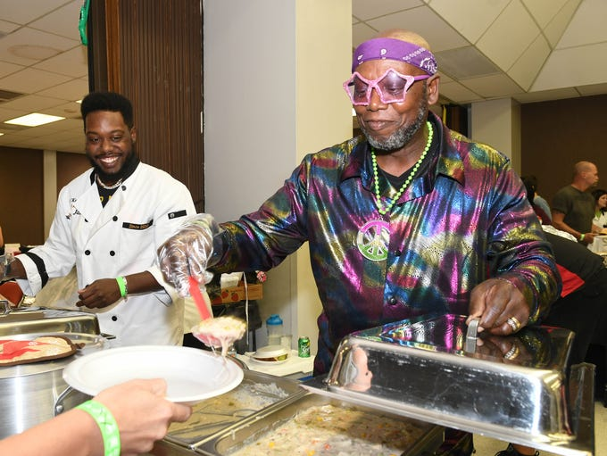 Hundreds enjoy the culinary delicacies created by celebrity