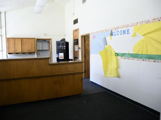 Goshen Elementary's current administration office will be demolished over summer break to make way for a new office for the 2018-19 school year.