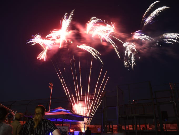 The Kiwanis Club of Tulare Fireworks Extravaganza at