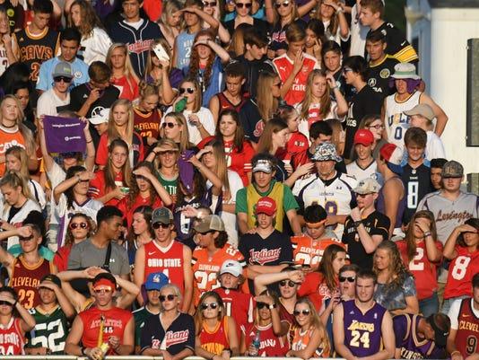 Football: Shelby at Lexington