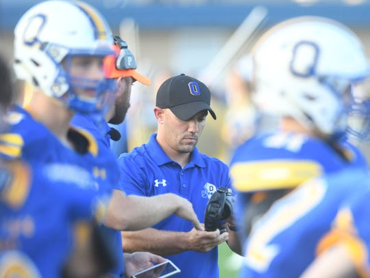 Ontario coach Chris Miller has the Warriors in the No. 3 spot of the Richland County Power Poll.