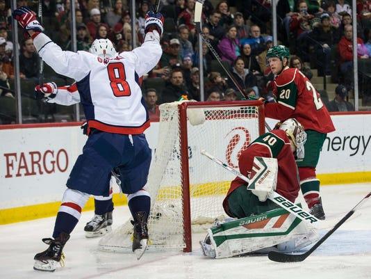 USP NHL: WASHINGTON CAPITALS AT MINNESOTA WILD S HKN USA MN