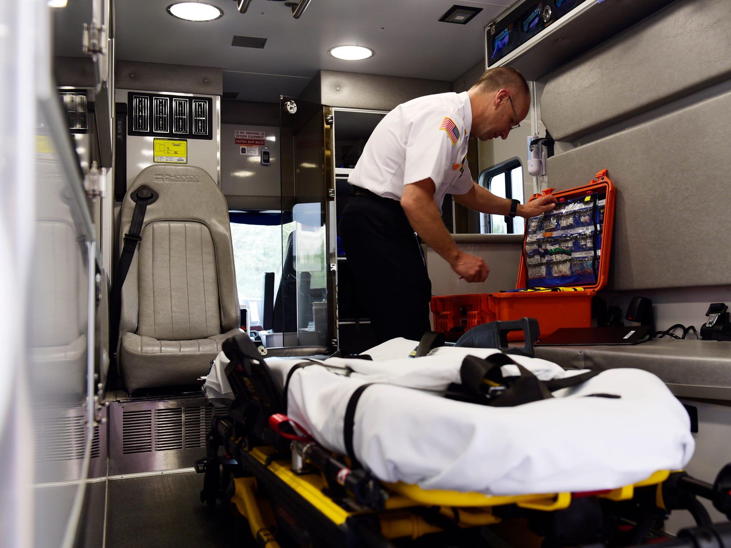Jeff Jackson, Sandusky County EMS director, said his