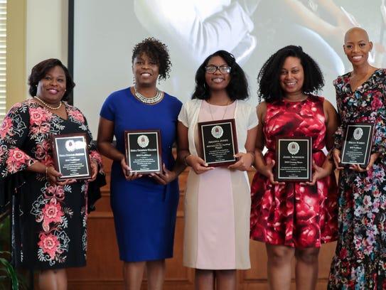 2018 Trailblazers, from left, Paula Deboles Johnson,