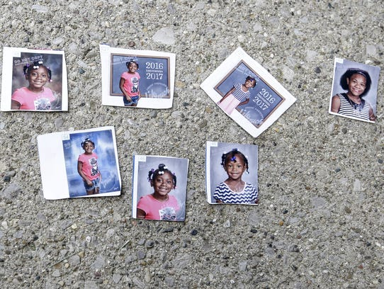 Here are photos of the four children —Keyana Davis,