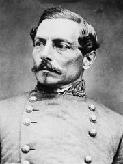 General Pierre Gustave Toutant Beauregard poses for a portrait on March 20, 1861. Beauregard was a general for the Confederate Army during the Civil War.