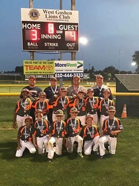 Northeastern will play for the Pa. Little League 9-10 Division title on Sunday.