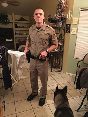 Arizona Department of Public Safety Trooper Tyler Edenhofer was shot and killed July 25, 2018, while responding to call on Interstate 10 near Phoenix. He was a trooper in training who graduated from the academy May 4, 2018.