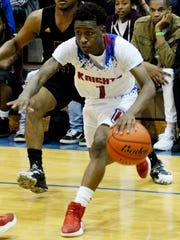 Woodlawn's Telvin Thomas during their game against