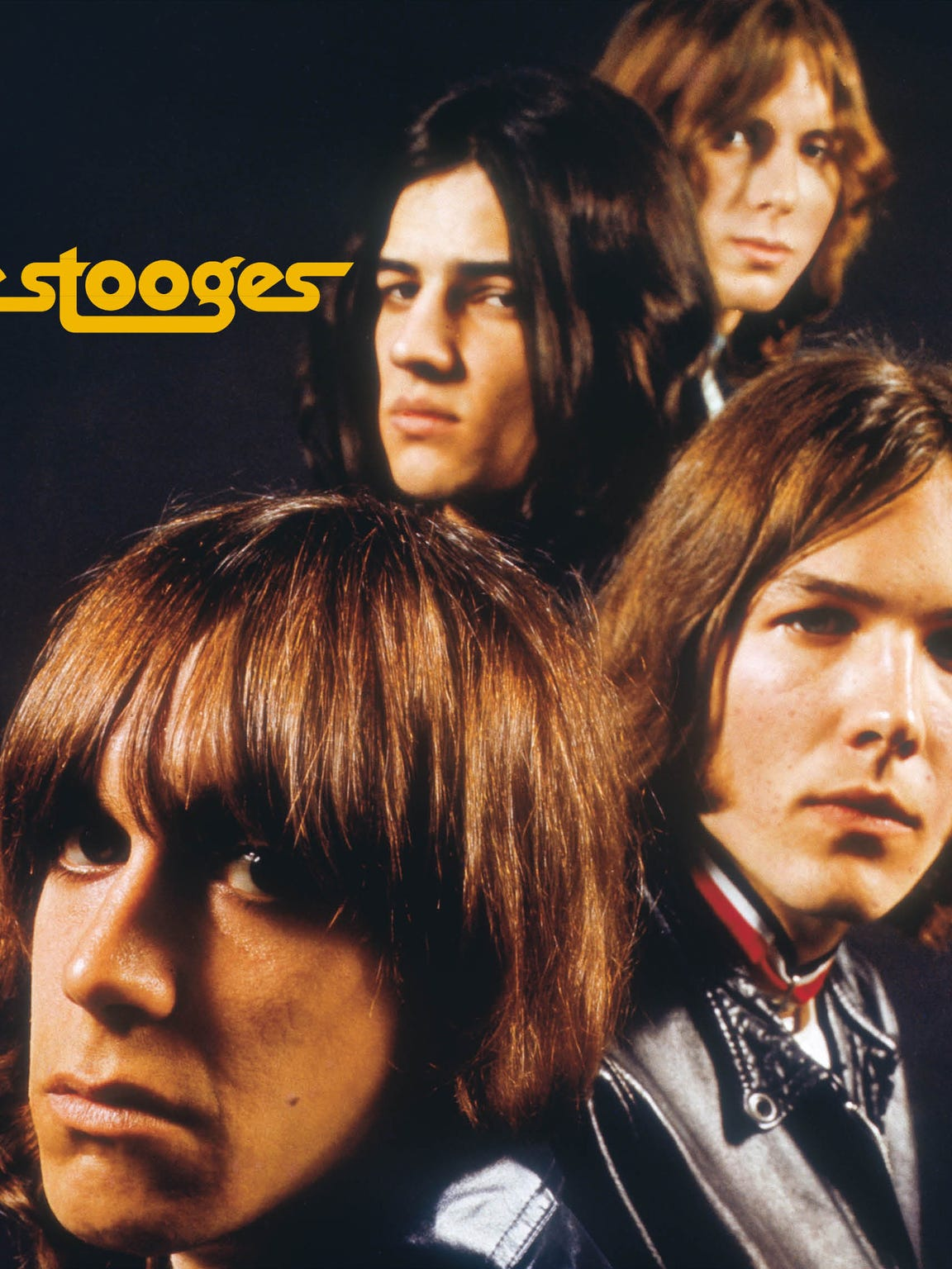 Cover of the Stooges' self-titled debut album in August
