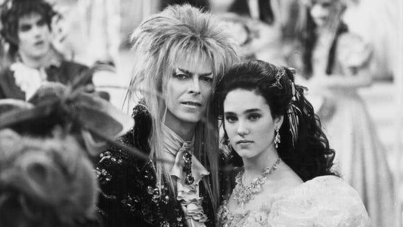 David Bowie in 'Labyrinth.'