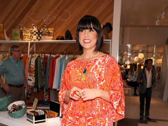 Trina Turk, seen at her Palm Springs store.