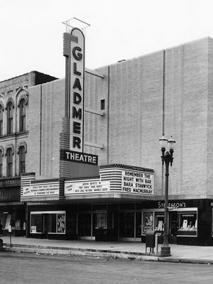 The Gladmer originally opened in 1872 as Bucks Opera House, was sold and renamed the Gladmer in around 1910, was remodeled in the mid-1950s, and closed in 1979. It was at 223 N. Washington Avenue in Lansing.