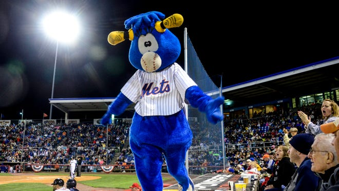 Fans show up to NYSEG Stadium for the third game in the Eastern League Championship Game on Friday. The Binghamton Mets would beat the Richmond Flying Squirrels.