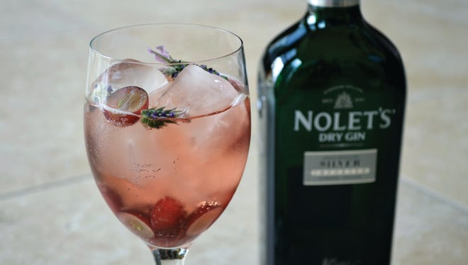 The Desert Wildflower made with Nolet's Dry Gin.