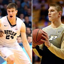 Butler's Kellen Dunham and Purdue's Isaac Haas will attempt to make Team USA's squad for the Pan-American Games.