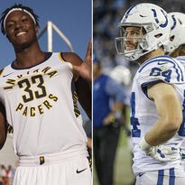 Doyel: Indy's tale of two teams — hopeful Pacers and hopeless Colts