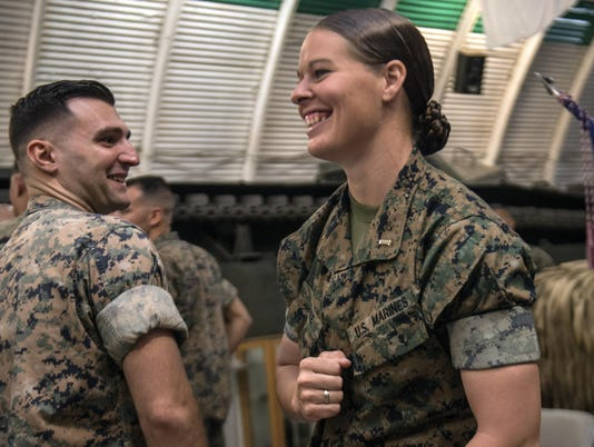 Marines-Female Platoon Leader