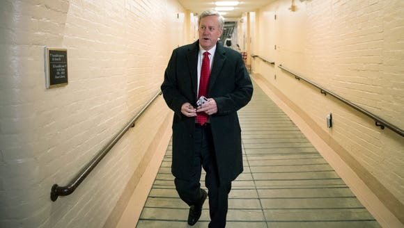 Rep. Mark Meadows, R-Buncombe, chairman of the conservative