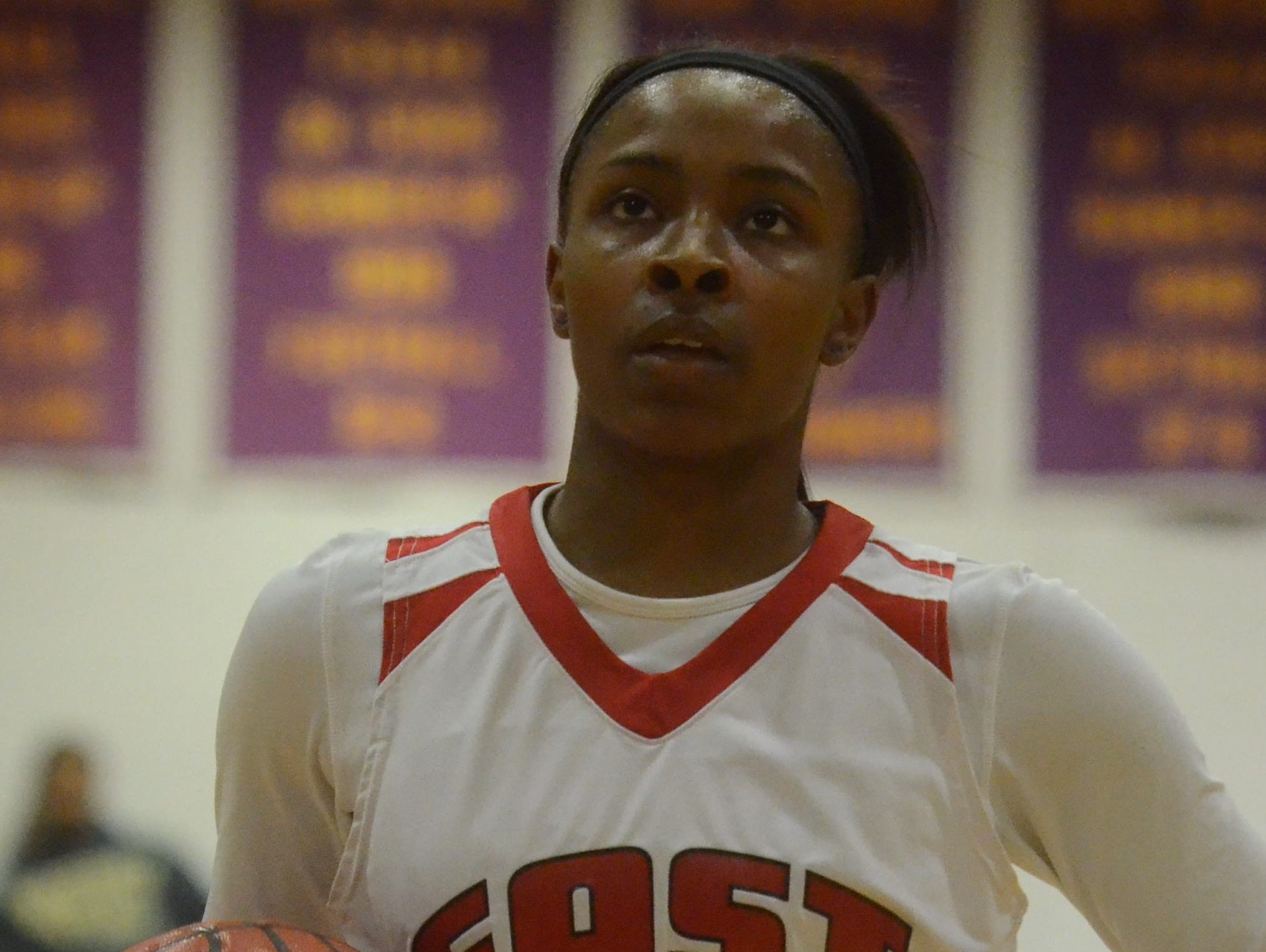 East Nashville junior Erica Haynes-Overton